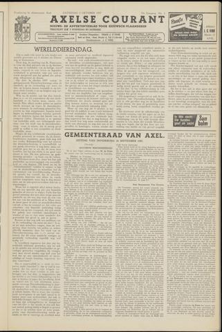 Axelsche Courant 1957-10-05