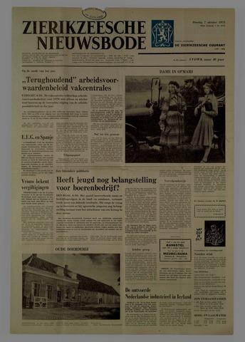Zierikzeesche Nieuwsbode 1975-10-07