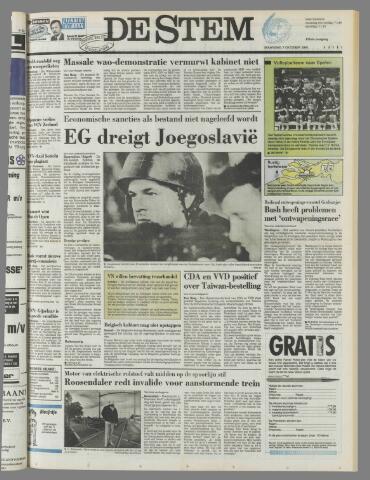 de Stem 1991-10-07