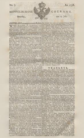 Middelburgsche Courant 1758-07-15