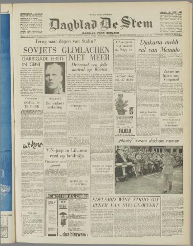 de Stem 1958-06-27