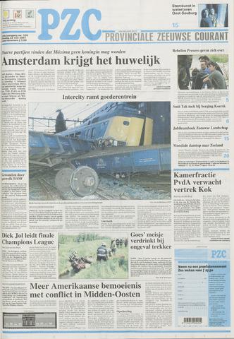 Provinciale Zeeuwse Courant 2001-05-22
