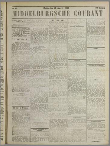 Middelburgsche Courant 1919-04-19