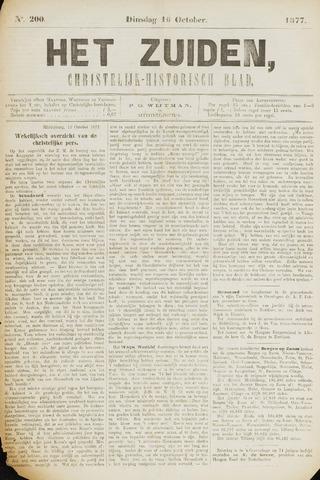 Het Zuiden, Christelijk-historisch blad 1877-10-16