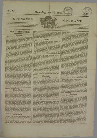 Goessche Courant 1843-06-26