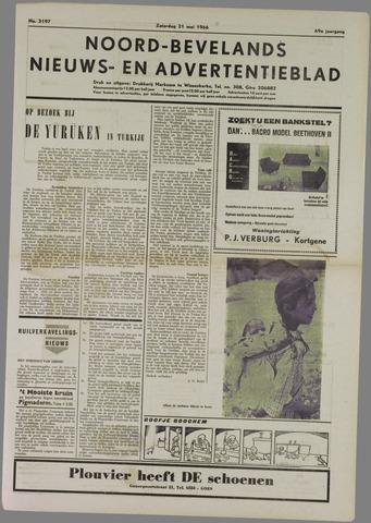 Noord-Bevelands Nieuws- en advertentieblad 1966-05-21