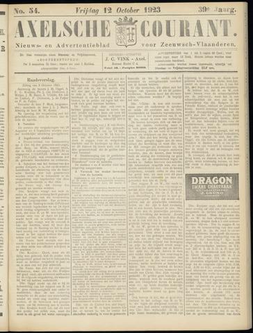 Axelsche Courant 1923-10-12