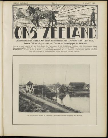 Ons Zeeland / Zeeuwsche editie 1929-03-09