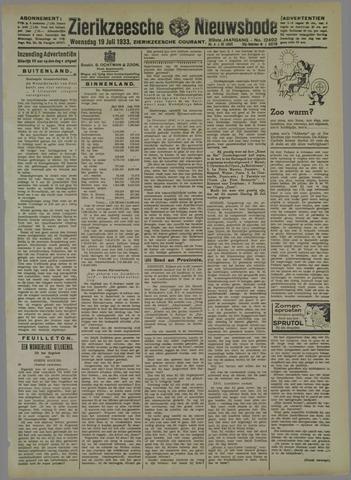 Zierikzeesche Nieuwsbode 1933-07-19