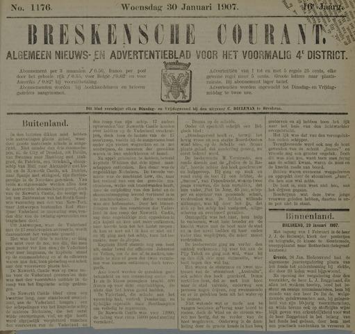 Breskensche Courant 1907-01-30