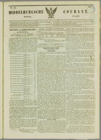Middelburgsche Courant 1847-04-10