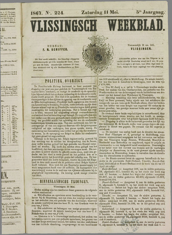 Vlissings Weekblad 1867-05-11
