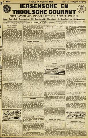 Ierseksche en Thoolsche Courant 1928-08-10