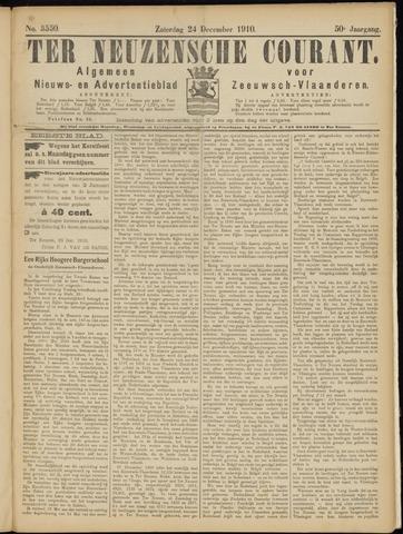 Ter Neuzensche Courant. Algemeen Nieuws- en Advertentieblad voor Zeeuwsch-Vlaanderen / Neuzensche Courant ... (idem) / (Algemeen) nieuws en advertentieblad voor Zeeuwsch-Vlaanderen 1910-12-24