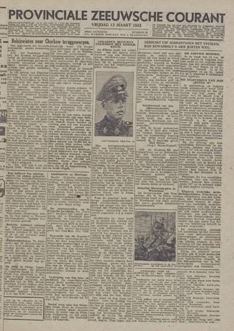 Provinciale Zeeuwse Courant 1943-03-12