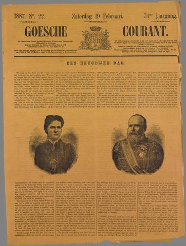 Goessche Courant 1887-02-19