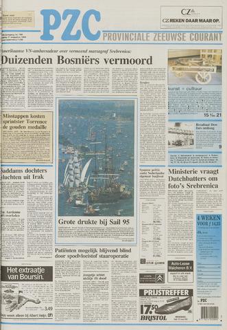 Provinciale Zeeuwse Courant 1995-08-11