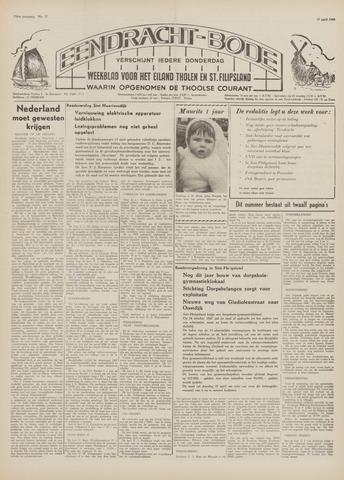 Eendrachtbode (1945-heden)/Mededeelingenblad voor het eiland Tholen (1944/45) 1969-04-17