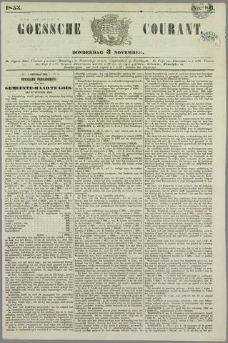 Goessche Courant 1853-11-03
