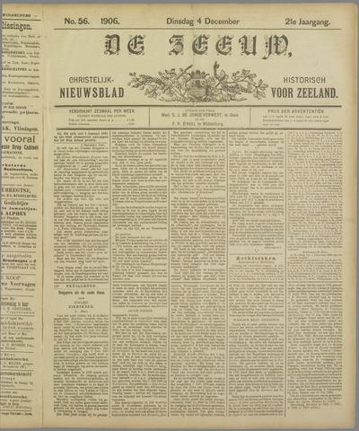 De Zeeuw. Christelijk-historisch nieuwsblad voor Zeeland 1906-12-04