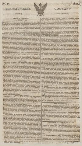Middelburgsche Courant 1827-02-08