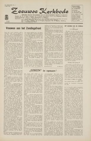 Zeeuwsche kerkbode, weekblad gewijd aan de belangen der gereformeerde kerken/ Zeeuwsch kerkblad 1965-07-02