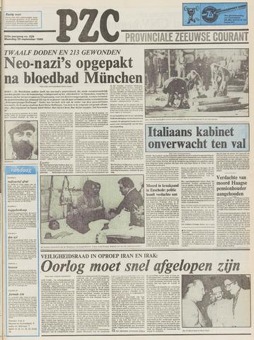 Provinciale Zeeuwse Courant 1980-09-29