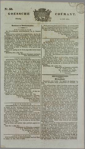 Goessche Courant 1834-07-14