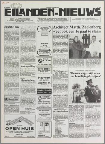 Eilanden-nieuws. Christelijk streekblad op gereformeerde grondslag 1989-11-10
