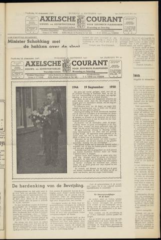 Axelsche Courant 1950-09-20