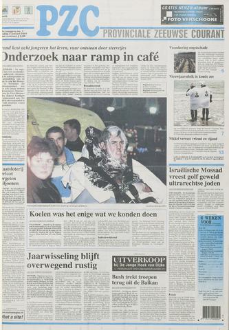 Provinciale Zeeuwse Courant 2001-01-02