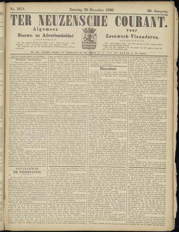 Ter Neuzensche Courant. Algemeen Nieuws- en Advertentieblad voor Zeeuwsch-Vlaanderen / Neuzensche Courant ... (idem) / (Algemeen) nieuws en advertentieblad voor Zeeuwsch-Vlaanderen 1890-12-20