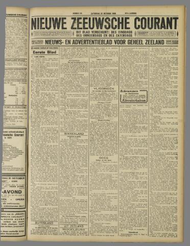 Nieuwe Zeeuwsche Courant 1926-10-23