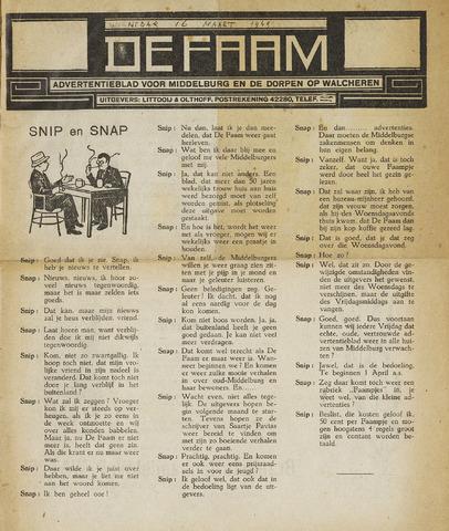 de Faam en de Faam/de Vlissinger 1949