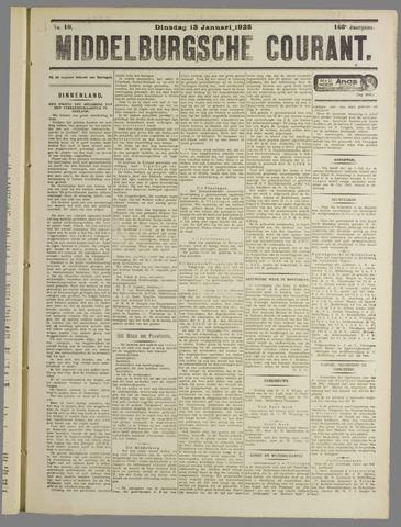 Middelburgsche Courant 1925-01-13