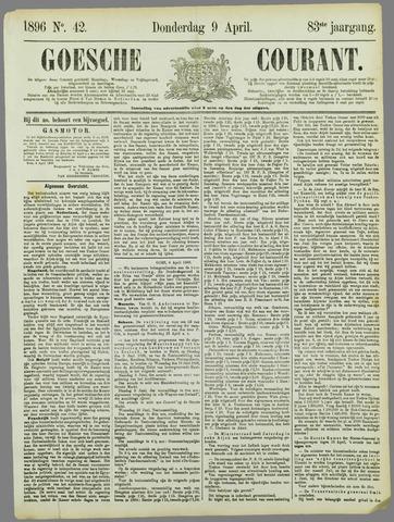 Goessche Courant 1896-04-09