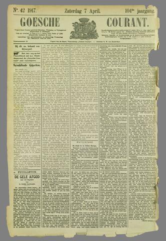 Goessche Courant 1917-04-07