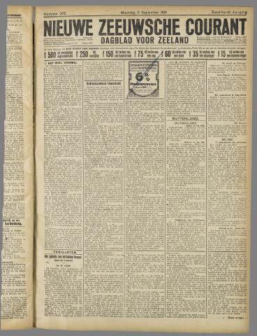 Nieuwe Zeeuwsche Courant 1921-09-05