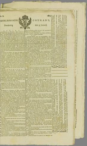 Middelburgsche Courant 1809-01-05