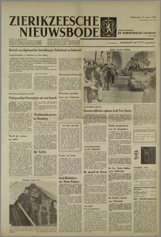 Zierikzeesche Nieuwsbode 1963-03-14