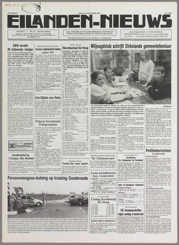 Eilanden-nieuws. Christelijk streekblad op gereformeerde grondslag 1990-12-18