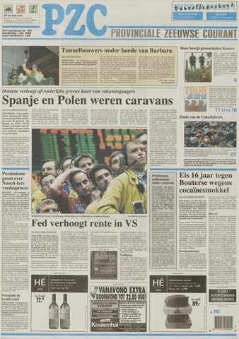 Provinciale Zeeuwse Courant 1999-07-01