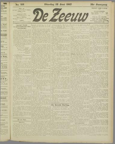 De Zeeuw. Christelijk-historisch nieuwsblad voor Zeeland 1917-06-12