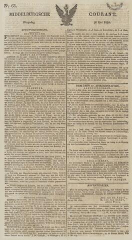 Middelburgsche Courant 1829-05-26