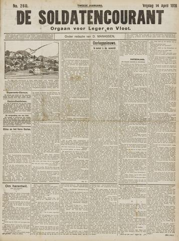 De Soldatencourant. Orgaan voor Leger en Vloot 1916-04-14