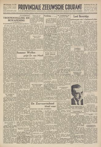 Provinciale Zeeuwse Courant 1946-11-28