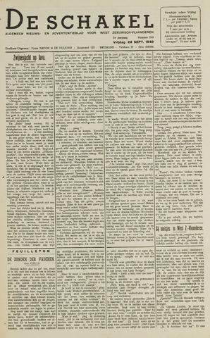 De Schakel 1949-09-23