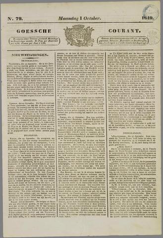 Goessche Courant 1849-10-01