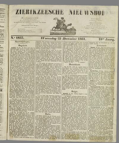 Zierikzeesche Nieuwsbode 1861-12-25