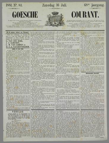 Goessche Courant 1881-07-16